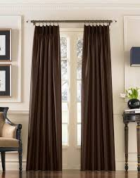 decor dark color 108 inch long length curtains idea