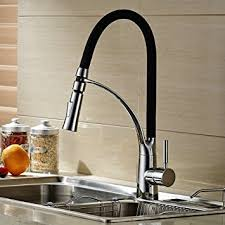 new chrome pull out kitchen faucet square brass kitchen mixer sink hiendure rainbow series solid brass chrome pull out