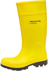 dunlop c462241 men purofort full safety wellington boots slip on