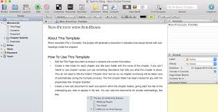 Scrivener for Thesis Writing  Setting Up a Thesis Structure using     Scrivener for thesis writing using academic template