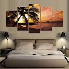 Palm Tree Bedroom Furniture by Online Get Cheap Sunset Palm Tree Aliexpress Com Alibaba Group