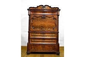secretaire bureau large antique mahogany secretaire writing bureau desk with