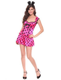 Minnie Mouse Womens Halloween Costume Halloween Costumes College Girls Simple Halloween Costumes
