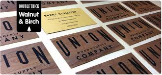 Singapore Business Cards Wooden Business Cards Printed Wood That Looks Natural And Unique