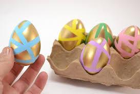 pastel easter eggs pastel gold easter eggs tutorial spark