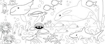 sea animal coloring printables pages of animals to print