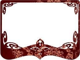 Decorative Frame Png Free Illustration Frame Red Decorative Border Free Image On