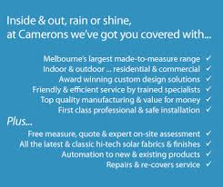 Awning Repairs Melbourne Blinds Dandenong South Camerons Blinds U0026 Awnings Rain And Wind