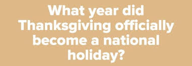 can you pass this thanksgiving history quiz