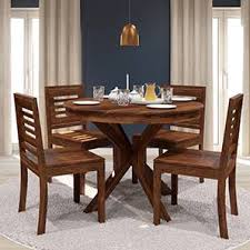Dining Table Sets Buy Dining Tables Sets Online In India Urban - Round dining room tables for 4