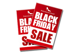 black friday sale signs retail signs retail signage for stores signazon com