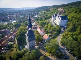 Panorama Bad Frankenhausen Kyffhäuser Auf Den Spuren Von Barbarossa