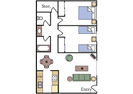 floor plan for two bedroom apartment floor plans and pricing aggie square apartments