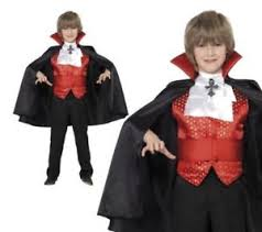 dracula boy costume vampire boys halloween fancy dress ages