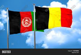 Belgian Flag Afghanistan Flag Belgium Flag 3d Image U0026 Photo Bigstock