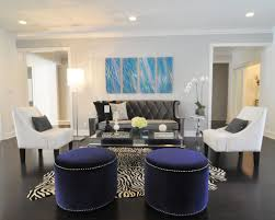 Ideas For Leopard Ottoman Design Stunning Living Room Animal Rug Decorating Ideas Featuring