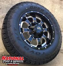 nissan titan yukon locker 18x9 vision wheel locker mounted up to a 275 65r18 toyo tires ipen