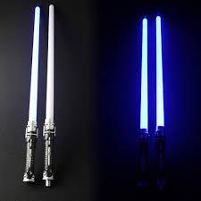 lightsaber toy light up blue lightsaber new like in star wars cross guard light up led sword