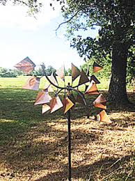 copper yard ornaments copper windmills yard