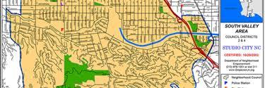 studio city map elected officials studio city neighborhood council