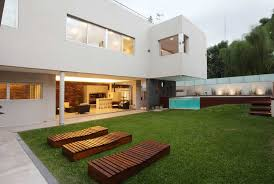 Modern Backyard Contemporary Backyard Landscaping Pictures 12 Fascinating