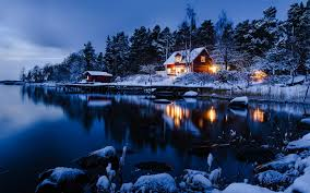 Winter House 24 Magical Winter Scenes Made Me Believe In Fairy Tales