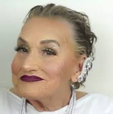 hairstyles for 80 year old grandmother of the bride glam ma this 80 year old woman s incredible makeup contouring is