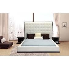 wood framed upholstered headboard also delano platform bed with