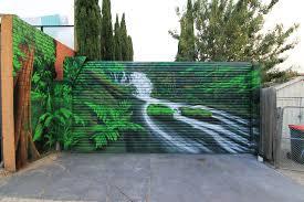 rainforest mural set it off graffiti artist melbourne rainforest mural