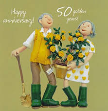 50th wedding anniversary 50th wedding anniversary card co uk office products