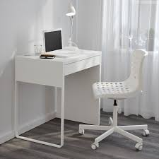 White Ikea Corner Desk by Home Design White Polished Oak Wood Corner Desk With 5 Tapered