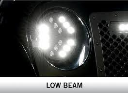 ferrari headlights at night luminix high power led headlights by putco