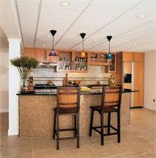 Galley Kitchens With Breakfast Bar Kitchen Style Peninsula Serving Carts Cake Pans Drinkware