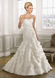 buy cheap silky organza with beading mermaid chapel gorgeous