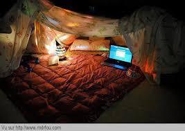 dans la chambre faire la tente dans la chambre mdr fou rire