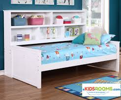 Captains Bed Twin Size Twin Size Bookcase Captains Daybed White Allen House Kids