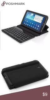 black friday bluetooth keyboard wireless bluetooth keyboard leather case for samsung galaxy tab