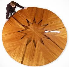 circle table that gets bigger unique furniture design that will make you drool design pinn