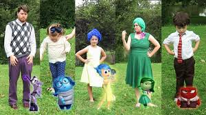 Family Halloween Costumes Ideas by Diy Inside Out Family Halloween Costumes And Disneybounding
