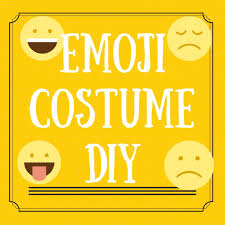 Emoticon Costume Halloween 29 Emoji Costume Images Emoji Costume Costume