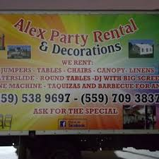 party rentals fresno ca alex party rental party equipment rentals fresno ca phone