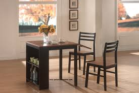 Breakfast Dining Set Coaster Furniture Item 130015 3 Piece Two Tone Breakfast Table Set