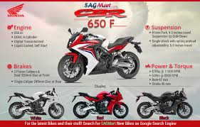 cbr upcoming bike honda cbr650f infographics sagmart