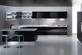 Modern Kitchen Cabinets by Black And White Kitchen Cabinets Shining 3 And Hbe Kitchen