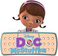 Doc Mcstuffins Home Decor Doc Mcstuffins Band Aid Logo Disney Decal Removable Wall Sticker