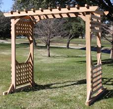 Swing Pergola by Colonial Arbor Swing Stand