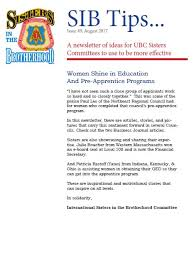 sisters news northeast regional council of carpenters