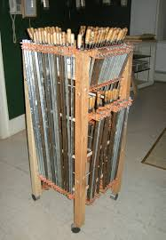 Wood Clamp Storage Rack Plans by Another Portable Clamp Rack