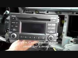 how to kia optima car stereo removal 2006 2010 replace repair 6