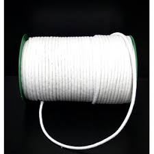 piping cord 8mm no 20 smooth white piping cord per metre